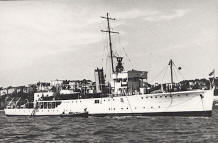 HMS Seagull as Halcyon Class Survey Ship